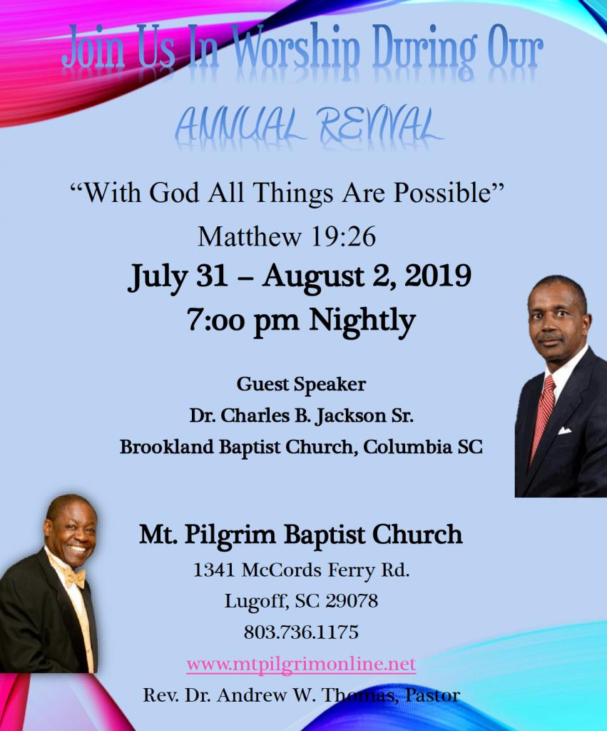 MPBC Revival 2019